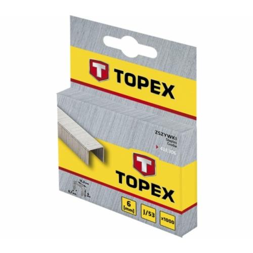 TOPEX TŰZŐKAPOCS 6MM 1000DB